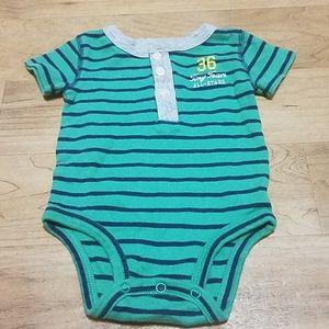 Carter's 6 months baby boy onesie